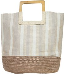area stars women's square handle tote bag