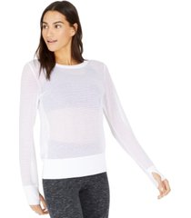 ideology mesh top, created for macy's