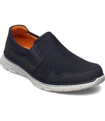 b4862-14 loafers låga skor blå rieker