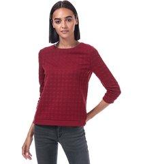 only womens mynthe joyce crew sweatshirt size 6-8 in red