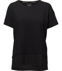 w techdrt t-shirts & tops short-sleeved zwart peak performance
