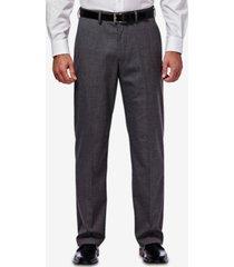 j.m. haggar men's classic/regular fit stretch sharkskin suit pants