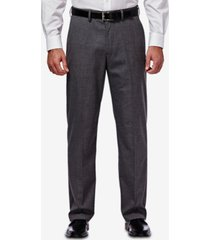 j.m. haggar men's classic/regular fit stretch sharkskin suit pants
