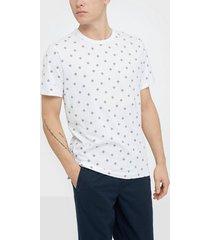 premium by jack & jones jprtristan bla. tee ss crew neck t-shirts & linnen vit