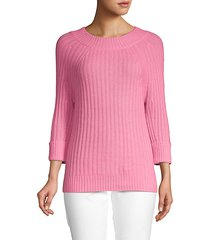 roundneck cashmere sweater