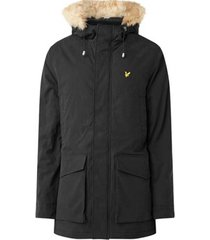 parka jas lyle scott winter weight microfleece lined parka