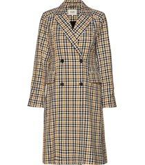 wallace coat trenchcoat lange jas geel second female