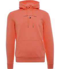 tommy hilfiger essential organic cotton terry hoodie | summer sunset | 17382-so2