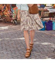 pastiche paisley skirt