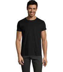 t-shirt korte mouw sols camiseta imperial fit color negro