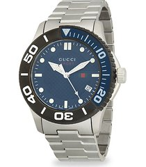 126xl stainless steel bracelet watch