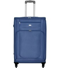 maleta de viaje pequeña en lona con cuatro ruedas giratorias 93063