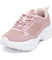 zapatilla high bamers rosa bamers