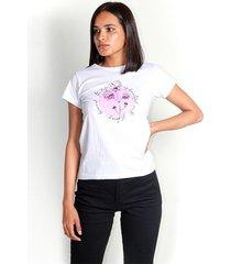 camiseta color blanco, manga corta, cuello redondo color-blanco-talla-xxs