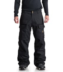 pantalon snowboard hombre code negro dc