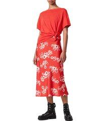 women's allsaints lenni 2-in-1 jasmine dress