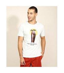 """camiseta masculina craft beer"""" manga curta gola careca off white"""""""