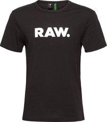 holorn r t ss t-shirts short-sleeved zwart g-star raw