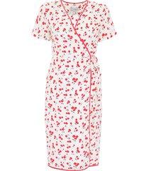hvn cherry print vera dress