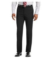 1905 collection tailored fit flat front textured men's suit separate pants by jos. a. bank