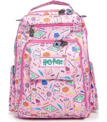 infant ju-ju-be harry potter be right back diaper backpack - pink