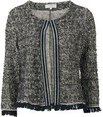 kavaj nandy tweed jacket