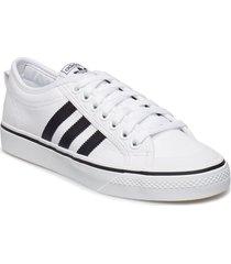 nizza låga sneakers vit adidas originals