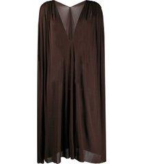 jean paul gaultier pre-owned 1990s shift dress - brown