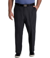 big & tall cool right performance flex classic fit flat front pant