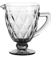 jarra de vidro transparente 1 litro