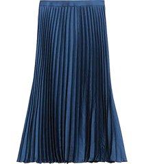 falda azul  banana republic