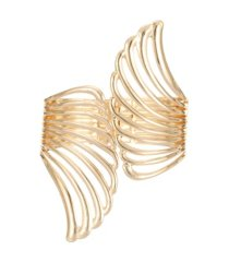 nina cut out wing hinge bracelet