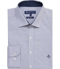 camisa dudalina fio tinto maquinetado masculina (branco, 6)