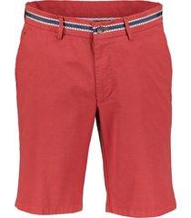 jac hensen short - modern fit - rood