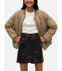 mango women's skin effect mini skirt