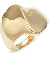 14k gold bypass ring
