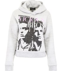 dsquared2 vicious bros hoodie