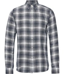 larch ls checked shirt - gots/vegan overhemd casual multi/patroon knowledge cotton apparel