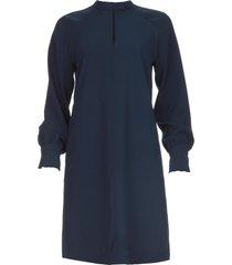 jurk celsha  blauw