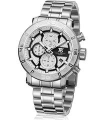 reloj de hombre t5 pulso acero h3635g-a - plateado