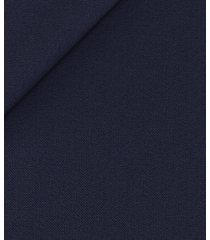 pantaloni da uomo su misura, loro piana, blu twill, quattro stagioni | lanieri