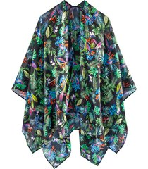 poncho estivo (nero) - bpc bonprix collection