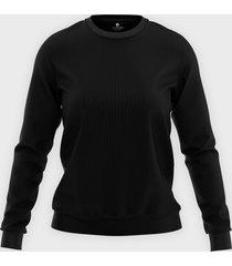damska bluza klasyczna (bez nadruku, gładka) - czarna