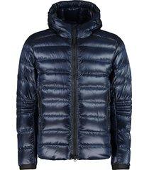canada goose crofton hooded down jacket