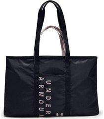bolso negro under armour metalic tote mujer 0 21497 negro