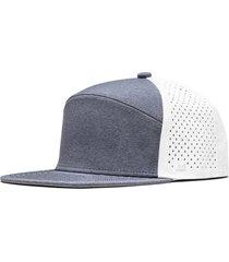 men's melin hydro trenches snapback baseball cap - blue