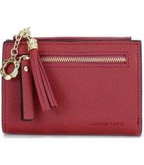billetera colette rojo carven