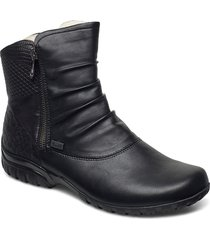 z4663-01 shoes boots ankle boots ankle boot - flat svart rieker