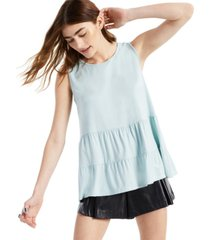 planet gold juniors' tiered babydoll top