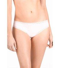 natori bliss cheeky thong underwear intimates, women's, cotton, size m natori